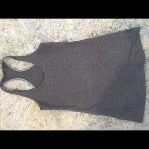 Like new! Grey Lightweight Size 6, Racerback tank!